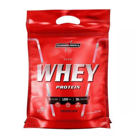 Imagem de Nutri Whey Protein Refil (900g) - Chocolate - Integralmédica