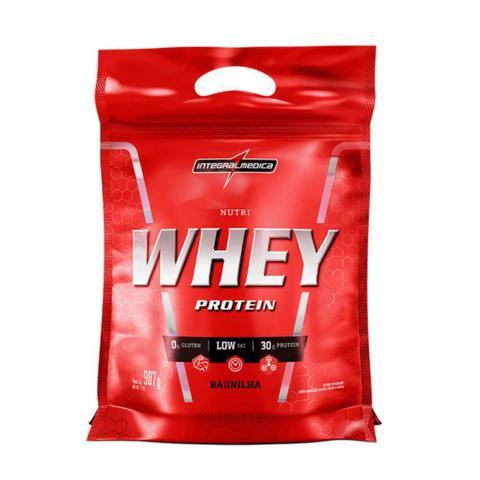 Imagem de Nutri Whey Protein Sabor Baunilha Refil 907g Integralmedica