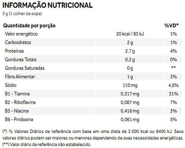 Imagem de Nutritional Yeast Cheese Free Levedura Nutricional Queijo Tempero Natural 120g - Puravida