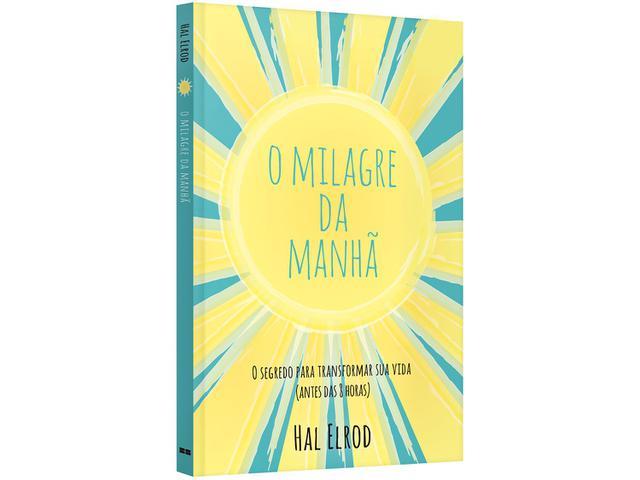 Imagem de O Milagre da Manhã Hal Elrod Best Seller