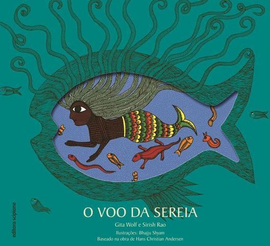 Imagem de O Voo da Sereia - Col. 4 Cantos