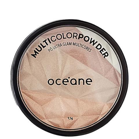 Imagem de Océane Multicolor Powder Ultra Glam - Pó 3 em 1 9,5g