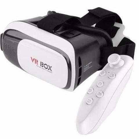 Imagem de Óculos 3D Rift Realidade Virtual Segunda Geração Com Controle - Branco