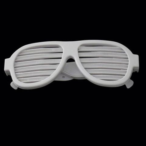 267b2ed937922 Imagem de Óculos Aviador Branco LED Equalizador Ativado Por Som Cor SKU  Branco