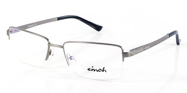 47ab43028b26f Óculos de Grau Einoh MMTB1146P Cinza - Acessórios de moda - Magazine ...