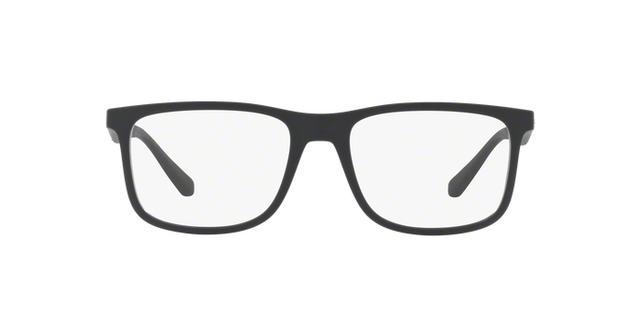 70eb6b29cec35 Imagem de Óculos de Grau Emporio Armani EA3112 5042 Preto Fosco Lentes Tam  56