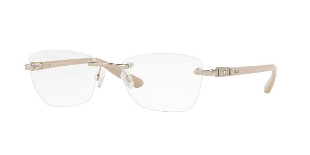 d552812cfb8a8 Imagem de Óculos de Grau Grazi Massafera GZ1011B F076 Ouro Com Cristais Da  SWAROVSKI Lente Tam