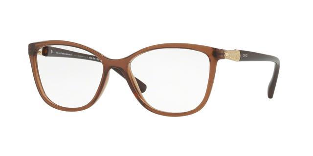 88064e851b75f Imagem de Óculos de Grau Grazi Massafera GZ3022B F106 Marrom Translúcido  Com Cristais Da SWAROVSKI Lente