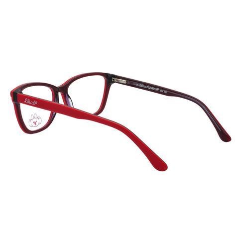 10c5eb13aedbb Imagem de Óculos de Grau Infantil Lilica Ripilica Feminino VLR111 C1 - Acetato  Vermelho