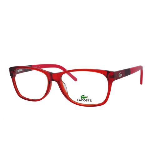 Imagem de Óculos de Grau Lacoste Feminino L2691 C615 - Acetato Vermelho e1a7dc9fc2