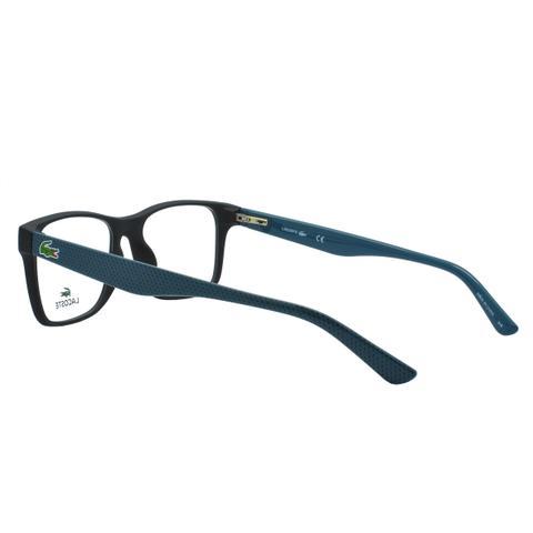 248f4005016c8 Imagem de Óculos de Grau Lacoste Masculino L2741 004 - Acetato Preto e Verde