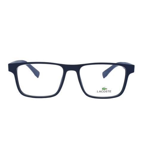 Imagem de Óculos de Grau Lacoste Masculino L2817 424 - Acetato Azul Fosco 1dee7d659d