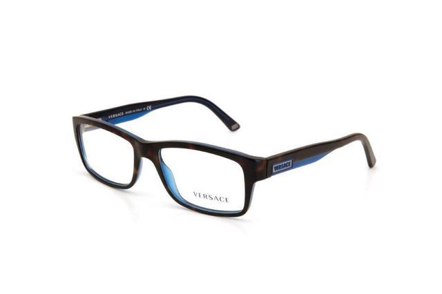 525cc762b Óculos de Grau Masculino Versace Mesclado Marrom - Óculos de Grau ...
