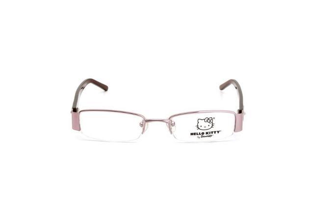 b85b89cd8 Óculos De Grau Menina Infantil Hello Kitty Em Metal Rosa - Óptica ...