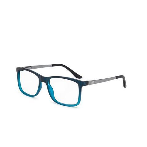 Imagem de Óculos de Grau Mormaii PEQUIM ALUMINIUM M6066 K57 53 Azul Petróleo Lente  Tam 58