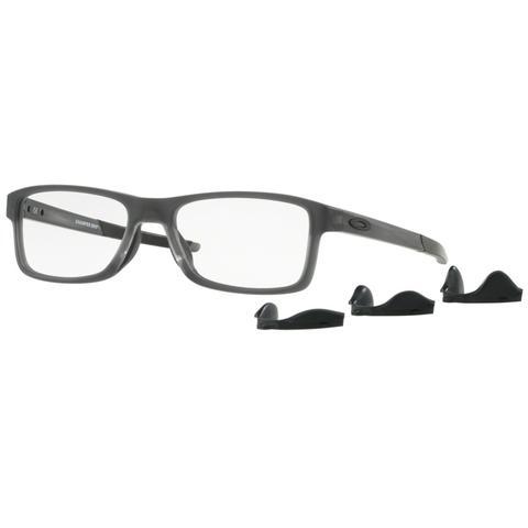 40365fd493418 Imagem de Óculos de Grau Oakley Chamfer MNP OX8089 Cinza Acetinado Tam 56