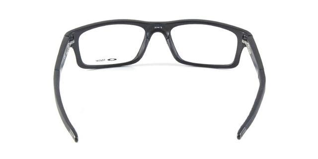 Imagem de Óculos de Grau Oakley Crosslink OX8037 Preto e Azul Fluorescente c5f2cc98c7