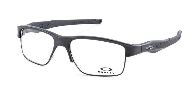 Imagem de Óculos de Grau Oakley Crosslink Switch OX3128 Preto Lente Tam 55 19b3652278