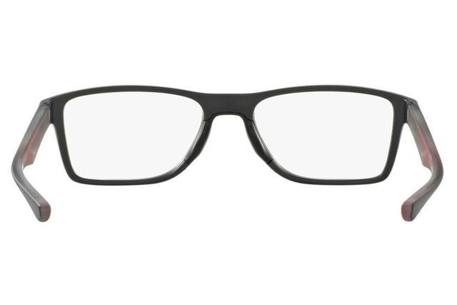 93dd866a35 Óculos de Grau Oakley Fin Box 0OX8108 02 53 Cinza - Óculos de grau ...