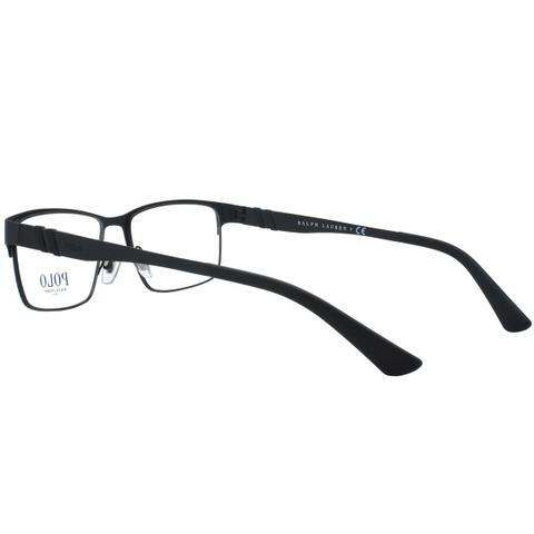 d8d6a42774e7f Imagem de Óculos de Grau Polo Ralph Lauren Masculino PH1147 9038 - Metal  Preto