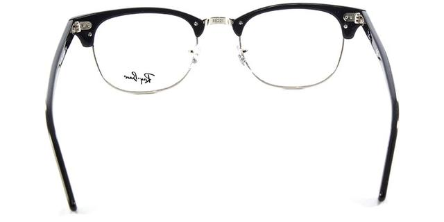be77b9579 Óculos de Grau Ray Ban Clubmaster RB5154 Preto Polido - Ray-ban ...