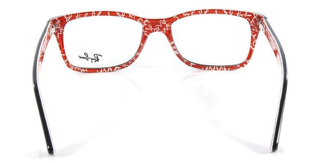 2df3d6992d669 Óculos de Grau Ray Ban Highstreet RB5228 Preto Transparente - Ray ...