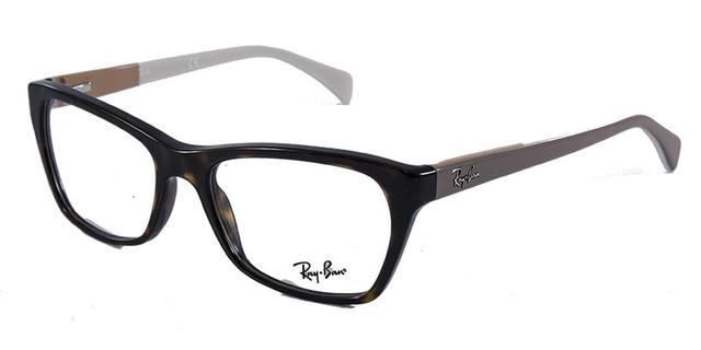Óculos de Grau Ray Ban Highstreet RB5298 Tartaruga Nude - Ray-ban ... 6f8ec914a6