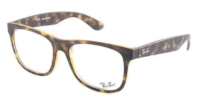Óculos de Grau Ray Ban Justin RB7057 Ennio Tartaruga - Ray-ban ... edddf14b21