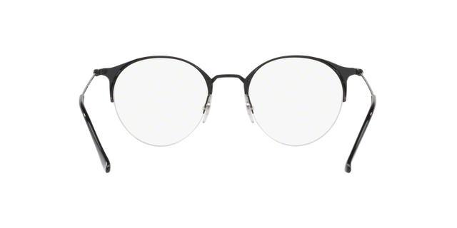 81ba121da1a87 Imagem de Óculos de Grau Ray Ban Round RX3578 2904 Preto Fosco Lente Tam 50