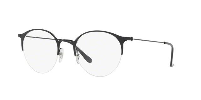 a78e84b0b Imagem de Óculos de Grau Ray Ban Round RX3578 2904 Preto Fosco Lente Tam 50