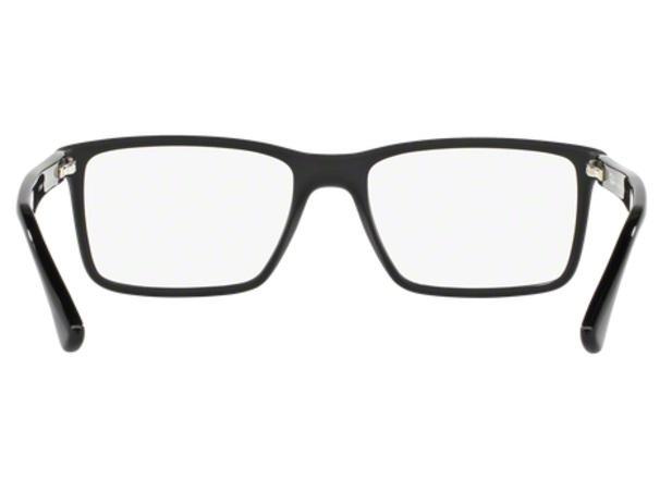 d7ec0e9d8c5ac Óculos de Grau Ray Ban RX7096 5656 Preto Fosco Lentes Tam 54 - Ray ...