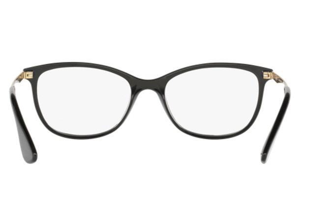 f91624cdbc25a Óculos de Grau Ray Ban RX7106 5697 Preto Fosco Lentes Tam 53 - Ray ...