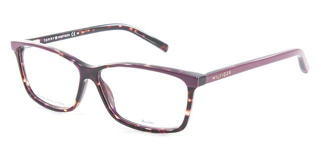 331e2139c8803 Óculos de Grau Tommy Hilfiger TH1123 Tartaruga Roxo - Óptica ...