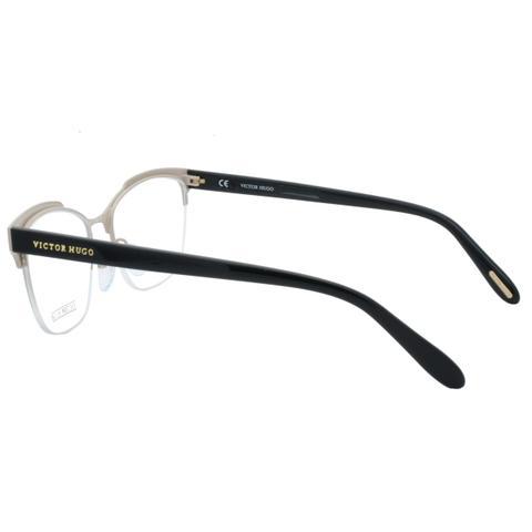 8c1ea12e137e8 Imagem de Óculos de Grau Victor Hugo Feminino com Fio de Nylon VH1262S SA8M  - Metal