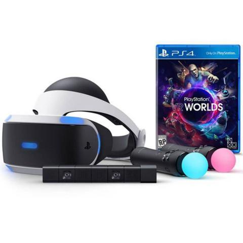 Óculos de Realidade Virtual PlayStation VR Worlds PS4 - Sony ... b8f02b96e0
