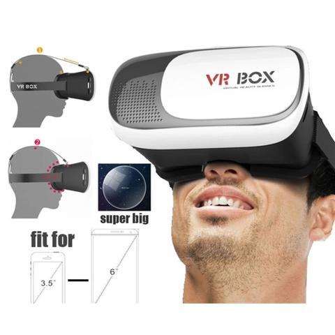 Imagem de Oculos de realide virtual 3d para celular e smartphone vr box  para android ios 432b887436