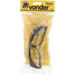 Óculos De Segurança Foxter Cinza Fume VONDER - Óculos de Proteção ... 1a7a4b319e