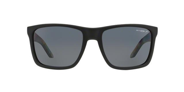 Imagem de Óculos de Sol Arnette Witch Doctor AN4177 222981 Preto Fosco  Lente Polarizada Cinza Tam 5ae2975bb9