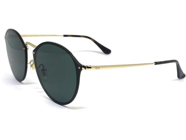 7f7cd8b040b Oculos de sol Blaze Round Ray Ban RB 3574N 001 71 59 - Óculos de Sol ...