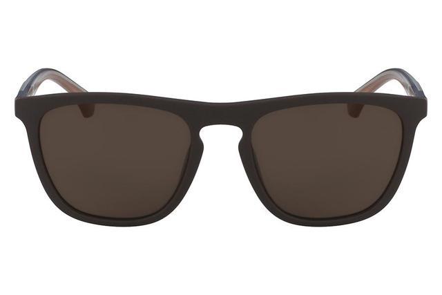 9ce2a90f98cc3 Imagem de Óculos de Sol Calvin Klein Jeans CKJ821S 256 55 Marrom Fosco