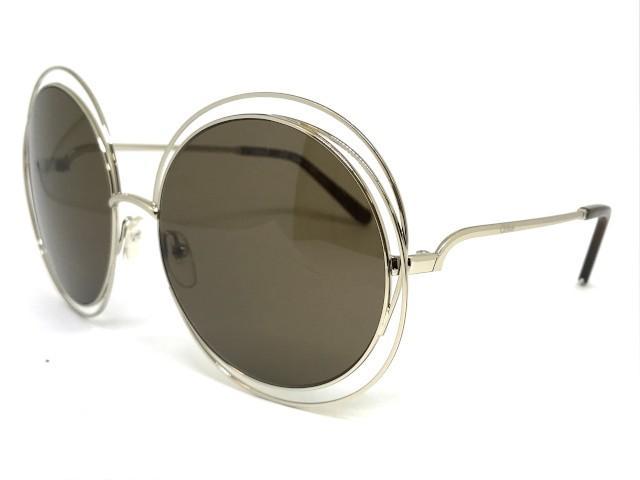 7a87df6e5 Oculos de sol Chloe Carlina CE 114 743 - Chloé - - - Magazine Luiza