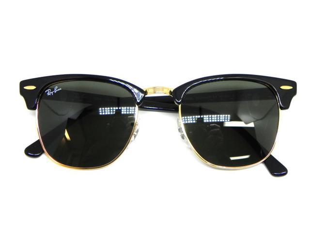 Oculos de sol Clubmaster Ray Ban RB 3016L W0365 51 - Óculos de Sol ... 50436a3b64