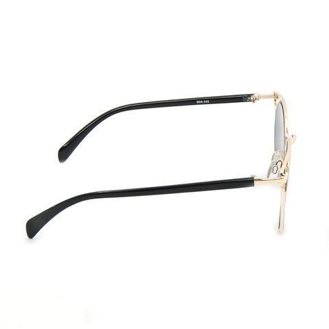 b69be76bd3ddd Óculos de Sol Dourado com Lente Preta - Bijoulux R  67,90 à vista.  Adicionar à sacola