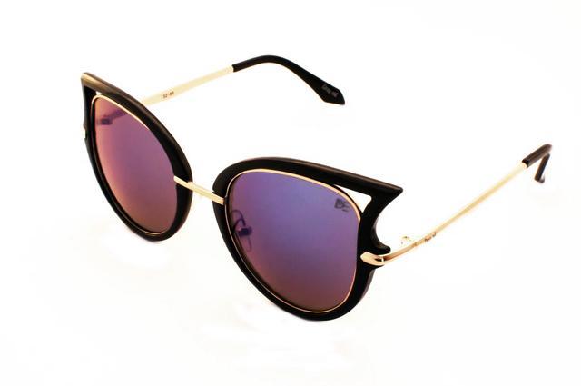 89c266ca9a152 Oculos De Sol Drop Me Feminino Gatinho Icone Espelhado Azul - Drop ...