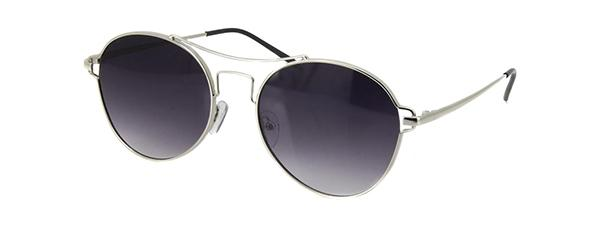 8635c1219c843 Imagem de Óculos de Sol Einoh YC3225 C3 Prata Lente Cinza Degradê Tam 56
