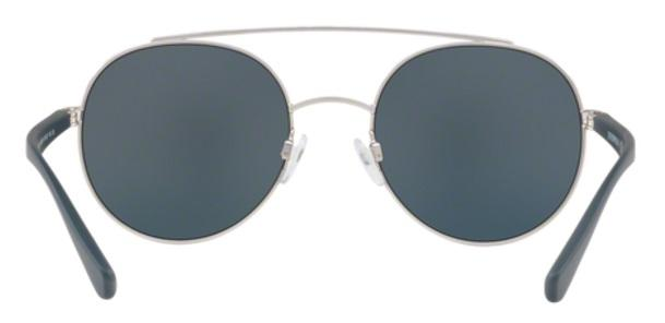 ed05c04c0f7 Imagem de Óculos de Sol Emporio Armani EA2051 3015 Prata Fosco Lente Cinza  Rosa Espelhada