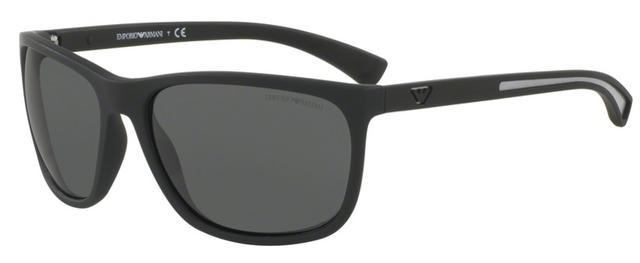 Óculos de Sol Emporio Armani EA4078 5063 Preto - Óculos de Sol ... 12714d168c