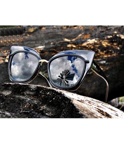 6e4c26f65 Óculos de Sol Gatinho Drop mE ADRIANA LENTE DETALHE PRETA - Drop me ...