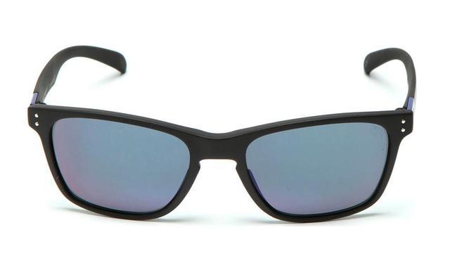 5bc320c56 Imagem de Óculos de Sol HB Gipps ll 9013870591 / 55 Preto Fosco Espelhado  Azul
