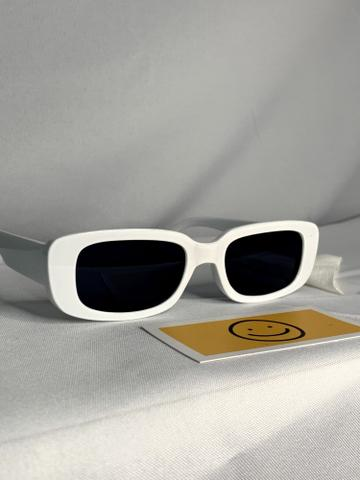 Imagem de Óculos De Sol Hype Retro Vintage Retangular Moda Oval Unissex JR